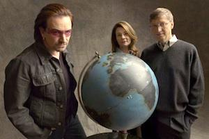 Picture: The Bill And Melinda Gates Foundation and Bono