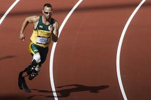 Picture: Oscar Pistorius at the 2012 London Olympic Games courtesy Jim Thurston/Wikimedia Commons