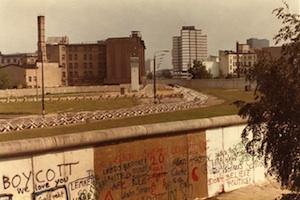 Picture: Berlin Wall (1982) courtesy ThinkingCouch/Flickr.