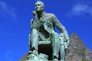 Picture: Statue of Cecil John Rhodes at University of Cape Town courtesy Danie van der Merwe/flickr