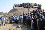Picture: Miners at the site of the Marikana massacre courtesy Socialist Worker UK.