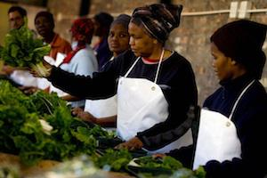 Picture: Women packing vegetable courtesy AUSAID South Africa/flickr