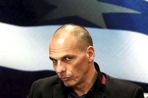 Picture: Greek Finance Minister Yanis Varoufakis courtesy Esquerra Anticapitalista