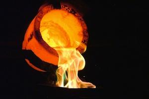 Picture: Pouring gold courtesy The Puzzler/Flickr
