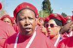 Picture: Julius Malema of the Economic Freedom Fighters courtesy Gulf Times.