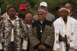 Picture: KhoiSan Royalty courtesy 350.org/Flickr.