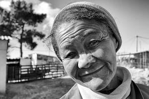 Picture: Anna from the Grabouw Informal Settlement Courtesy Lino Steenkamp/Flickr