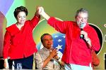 Picture: Elected for a second term by a narrow margin, Brazil