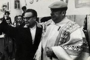 Picture: Salvador Allende and Pablo Neruda courtesy Library of the Chilean National Congress/Wikimedia.