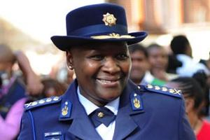 Picture: National Police Commissioner Riah Phiyega courtesy GovernmentZA/Flickr.