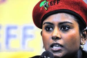Picture: Magdalene Moonsamy, the EFF