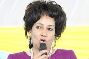 Picture: Human Settlements Minister, Lindiwe Sisulu, courtesy GovernmentZA/flickr
