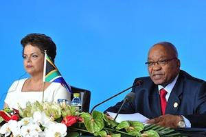 Picture: Brazilian President Dilma Rousseff and SA