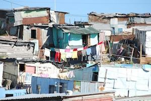 Picture: A South African shack settlement in an urban area courtesy jason&molly/Flickr.