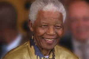 Picture: Nelson Mandela courtesy South Africa The Good News/Wikimedia Commons