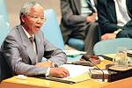 Picture: President Nelson Mandela at the United Nations (UN) in New York courtesy Milton Grant/UN