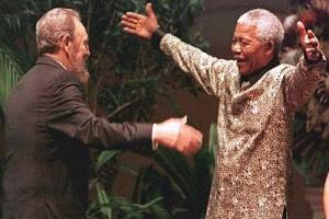 Picture: Nelson Mandela and Fidel Castro courtesy Foreign Policy in Focus.