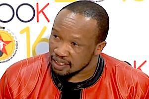 Picture: General secretary of Numsa, Irvin Jim courtesy You Tube.