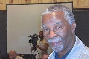 Picture: Former President Thabo Mbeki courtesy Esthr/Flickr.