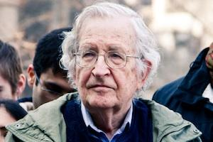 Picture: Noam Chomsky courtesy Andrew Rusk/Flickr