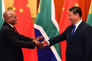 Picture: President Jacob Zuma meets President of China Xi Jinping at the Great Hall of the People courtesy GovernmentZA/flickr
