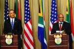 Picture: American President Barack Obama and South African President Jacob Zuma at a press briefing in Pretoria courtesy GovernmentZA.