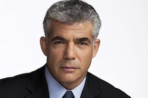 Picture: Yair Lapid courtesy Wikimedia Commons.