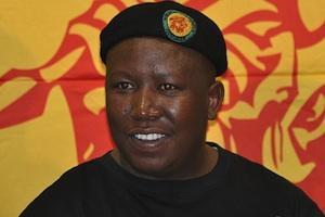 Picture: Julius Malema courtesy Gary van der Merwe/Wikimedia Commons.