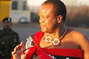 Picture: King Mswati III courtesy Kollmeierf/Wikimedia.