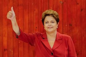 Picture: Dilma Rousseff in Porto Alegre during the second round of voting in Brazil last week courtesy Ichiro War/Sala de Imprensa/flickr