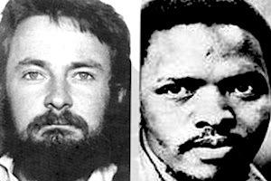 Picture: Neil Aggett and Steve Biko courtesy South African History Archives and Wikipedia.